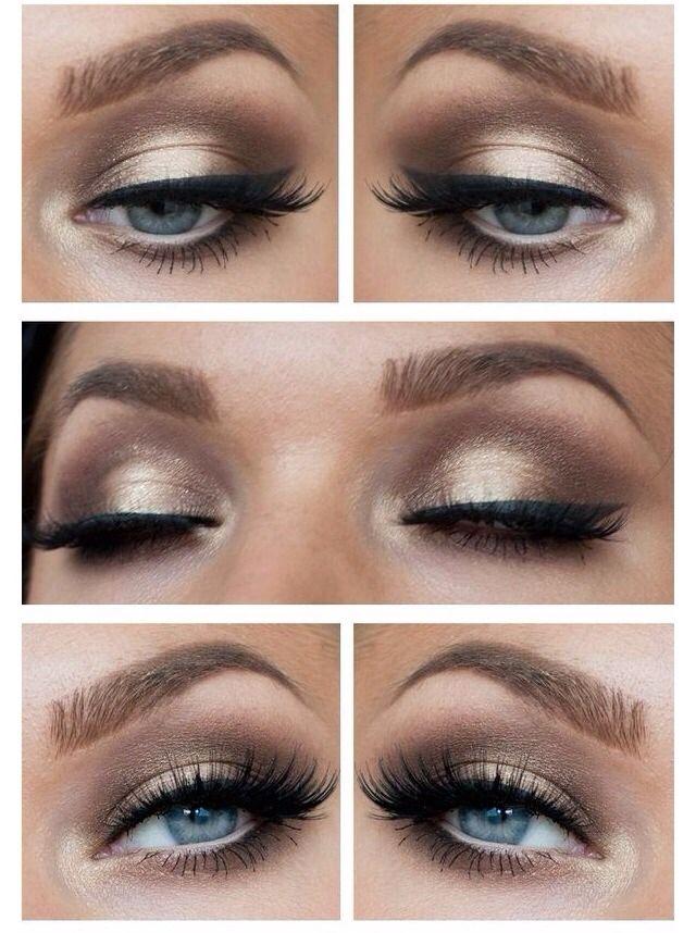 3 Best Party Eyes | Blue eye makeup, Wedding hair, makeup ...