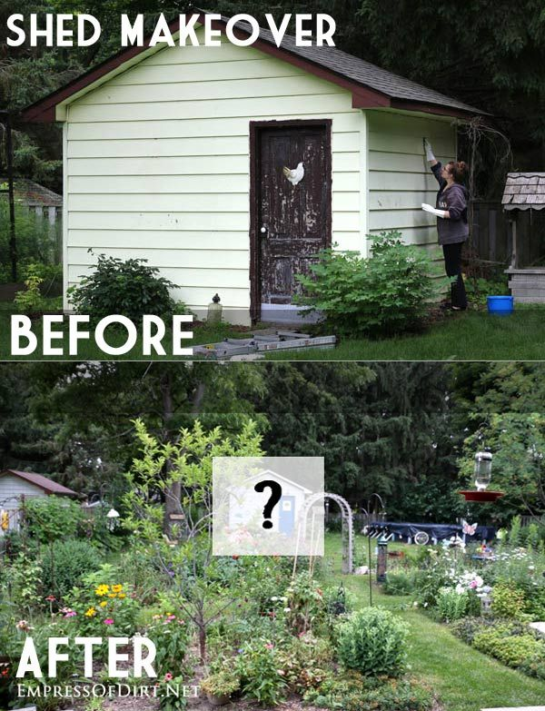 How to Paint Vinyl Siding: Shed Makeover   DIY ROCK STARS