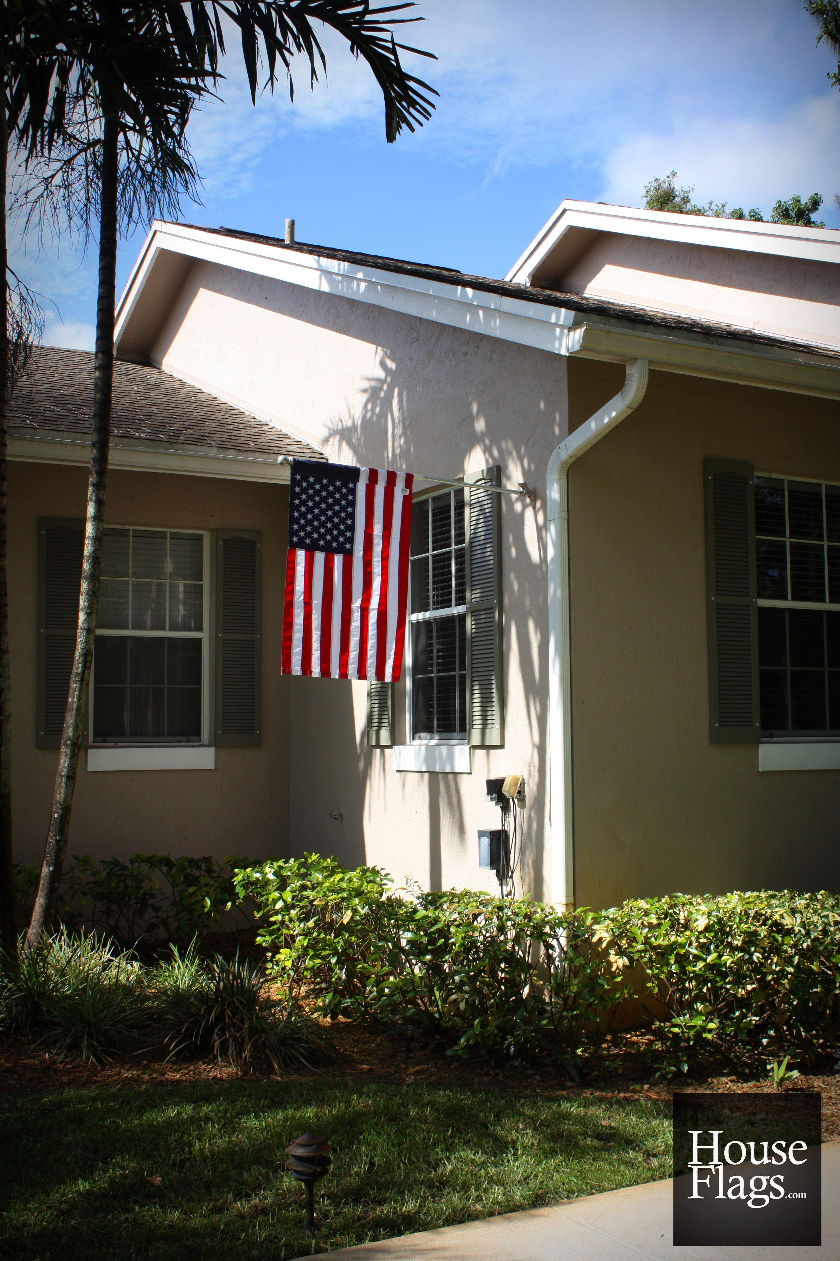 American Flag Houseflags Houses House