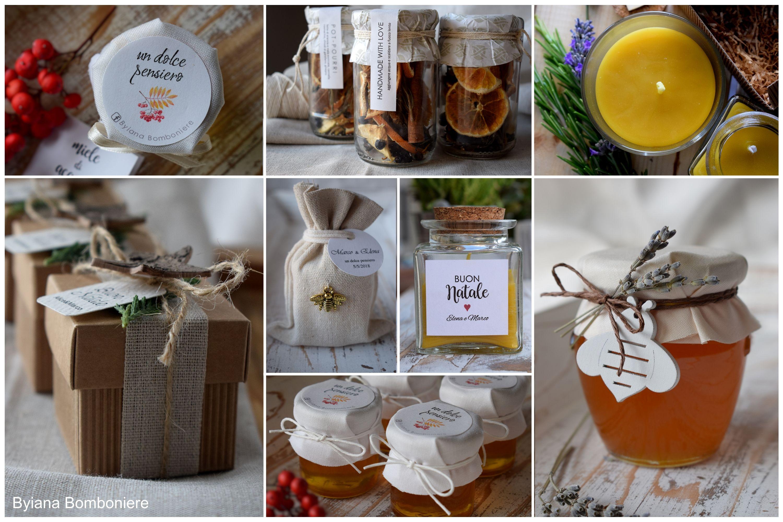 Bomboniere Artigianali Matrimonio.Bomboniere Artigianali Gastronomiche Handmade Miele Per Tutte