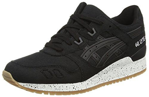 ASICS Gel-lyte Iii H643n-9090-13, Unisex-Erwachsene Sneakers, Schwarz (black/black 9090), 47 EU - http://on-line-kaufen.de/asics/47-eu-asics-gel-lyte-iii-h643n-9090-10h-unisex