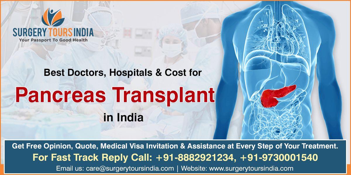 pancreas transplant in india, pancreas transplant in delhi, how much