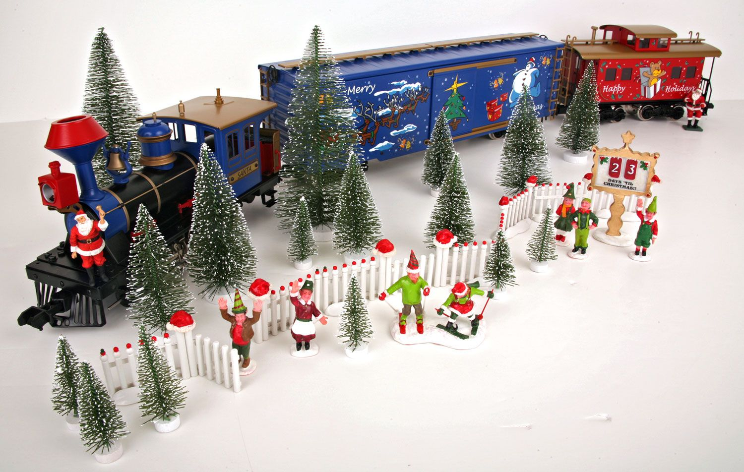 christmas train sets for under the tree - Buscar con ...