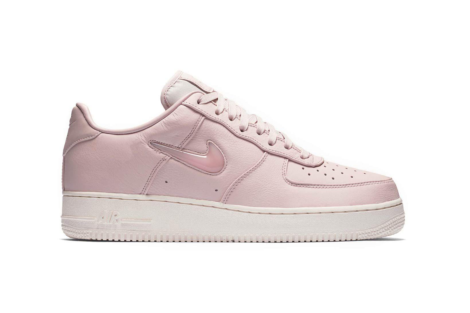The Bubblegum Pink Nike Air Force 1 Jewel Drops This Week Pink Nikes Nike Air Force Nike