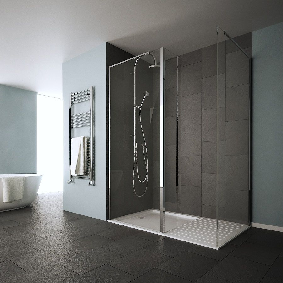 Walk In Shower Design | Showers | Pinterest | Open showers, Modern ...