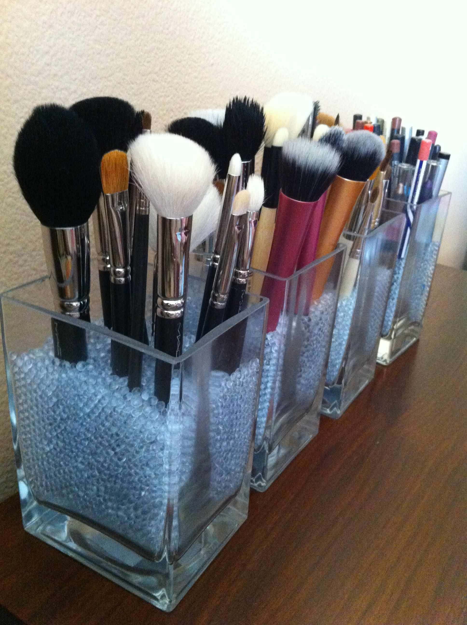 Makeup and Brush Organization (With images) Makeup