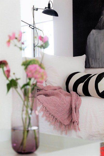 Farbinspiration der Woche 8 Ideen fürs Wohnen mit Rosa-Schwarz