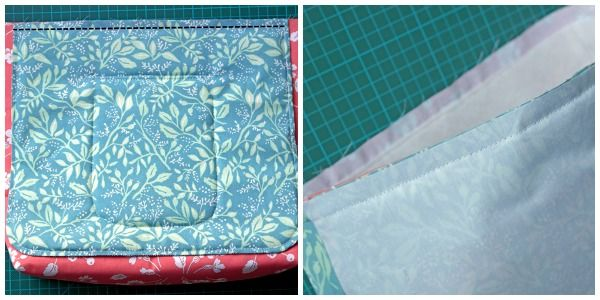 Sew a padded messenger bag project