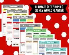 Disney World Itinerary Template  Bing Images  Disney World