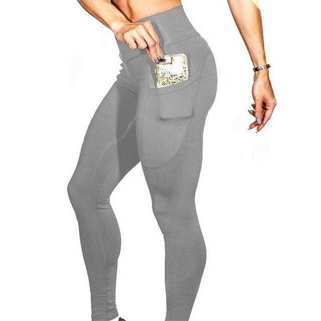 Yoga Hosen Frau Leggings Fitness Seite Handytasche Yoga Hosen Sport Sportswea ... - #Fitness #Frau #...