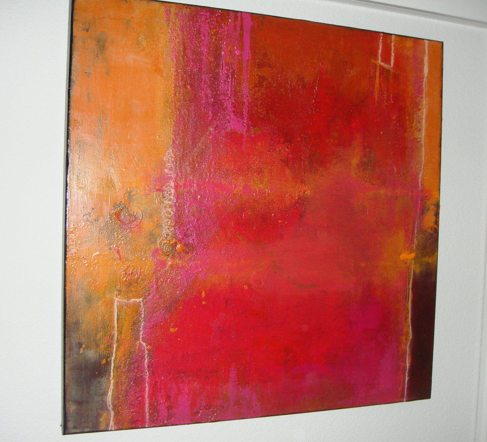 acrylbild liebe 70x70cm bild in etsy art abstract wall wandbilder abstrakte kunst formen