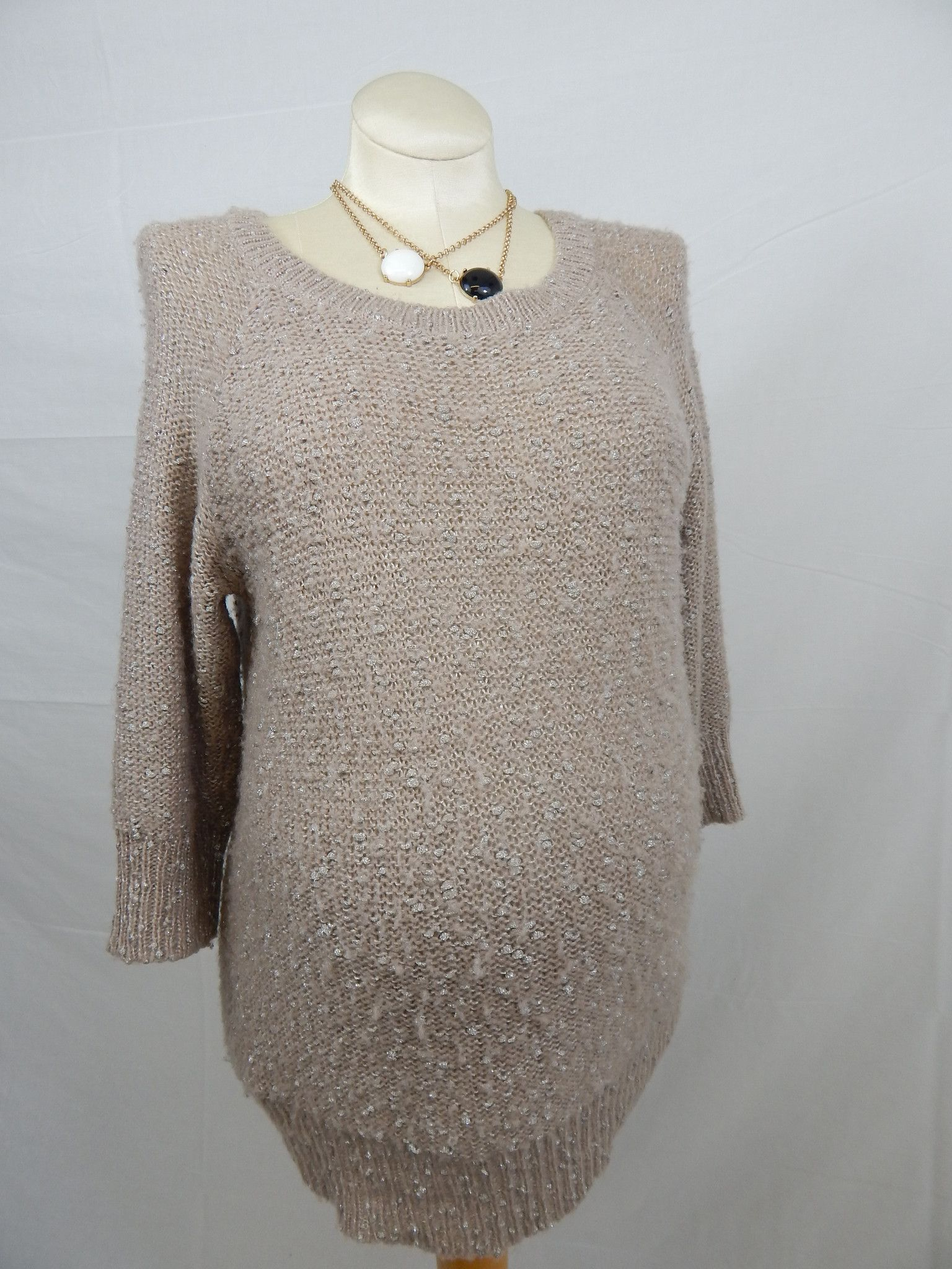 Dark Peach Sweater-Large
