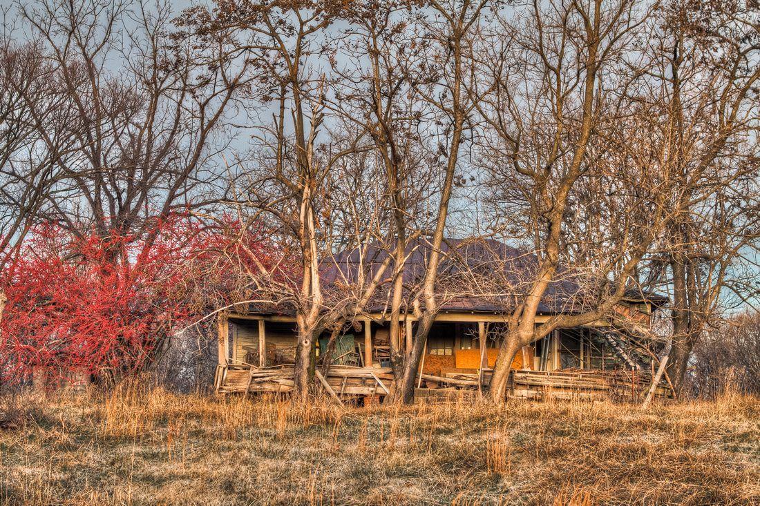 Abandoned House On Gilt Edge Road Near Munford Tn