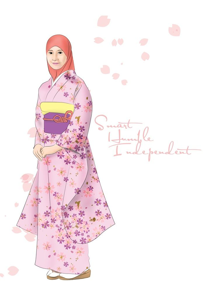 muslimah around the world project japan by