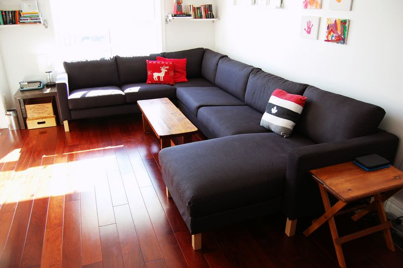 Great Ikea Karlstad Sectional Sofa Review   Bringing Home The KARLSTAD    Northstory