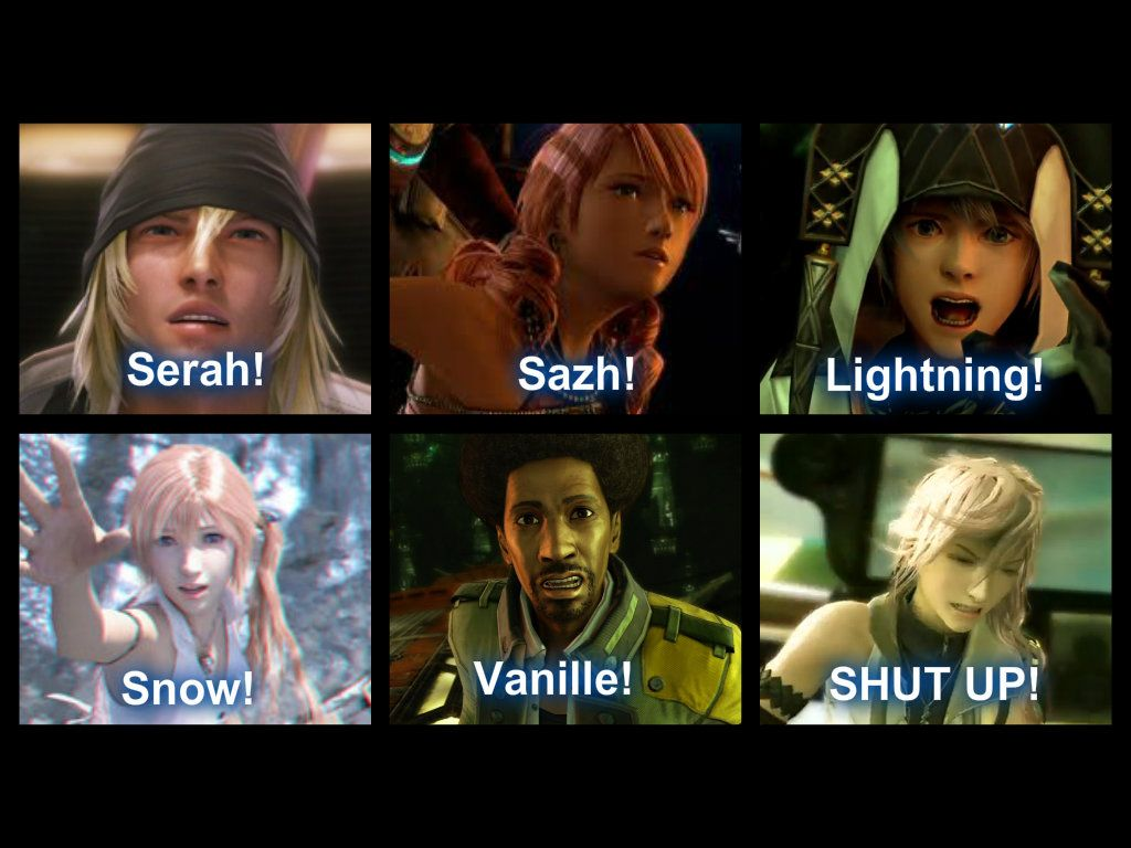 """Funny! Everyone is calling each other's names dramatically but Lightning just like says, """"SHUT UP!!!"""""""