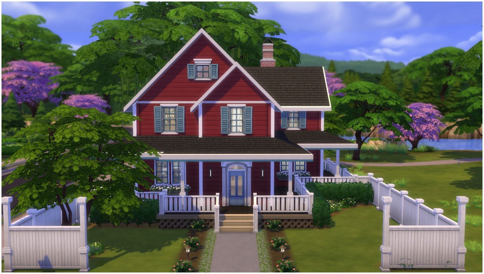 Mod The Sims Family Farmhouse Sims House Plans Sims 4 House Building Sims House