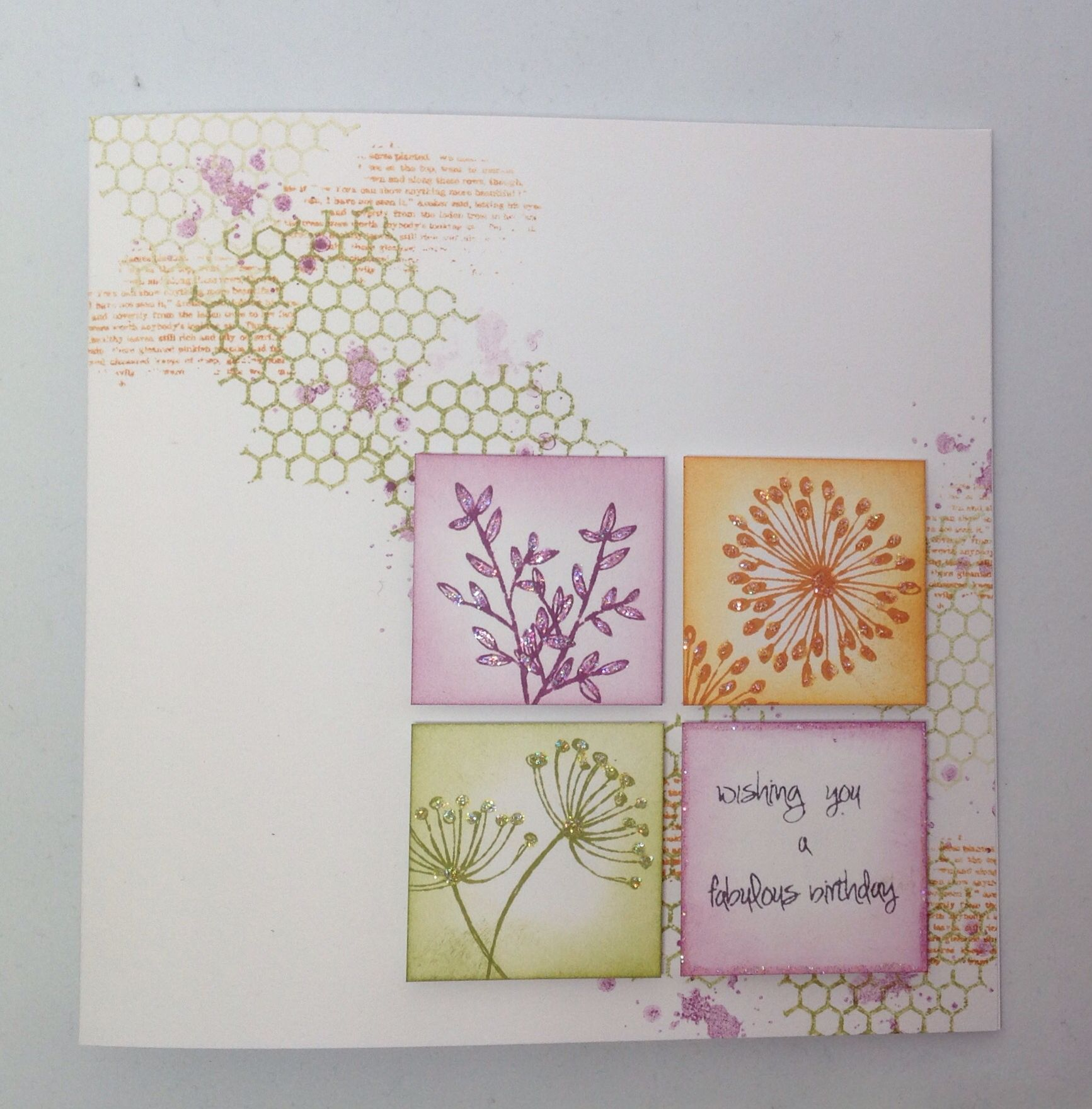 Card Created Using Stamp It Stamp Sets, By Julie Hickey