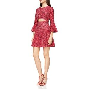 Bcbgmaxazria Cutout Lace Dress