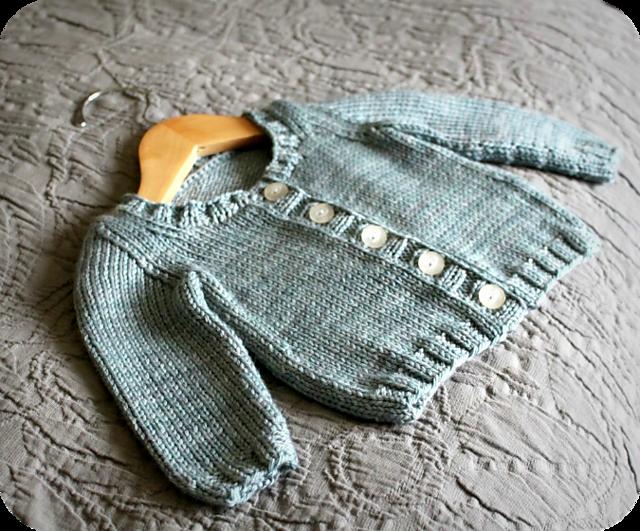 Ravelry Basic Baby Cardigan Pattern By Alana Dakos Knitting