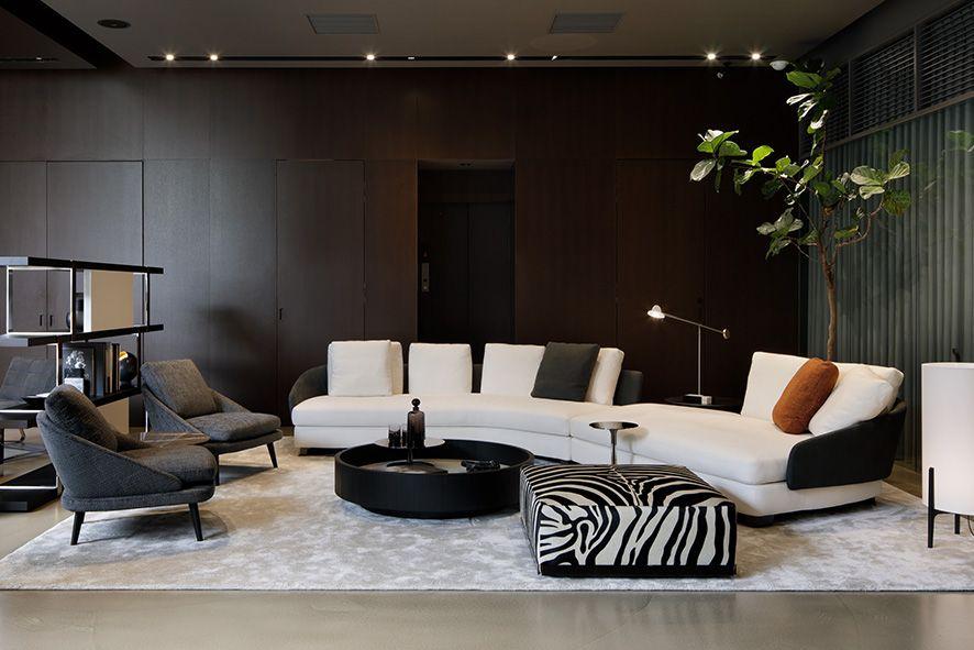 Tokyo Aoyama Flagship Store Minotti Tokyo Flagship Store Lawson Rodolfodordoni Minotti Living Room Living Room Designs Minotti