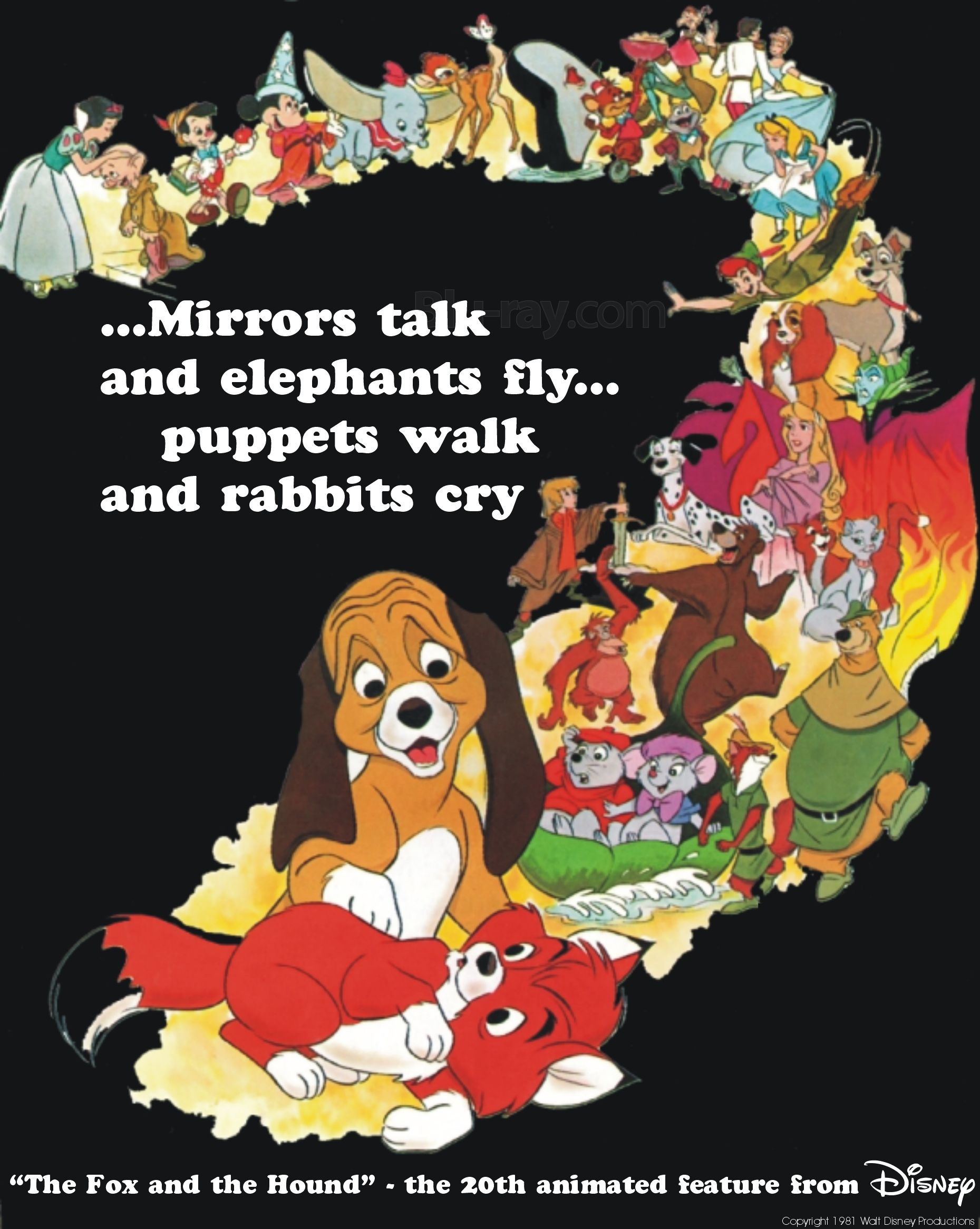 the end walt disney productions - Google Search