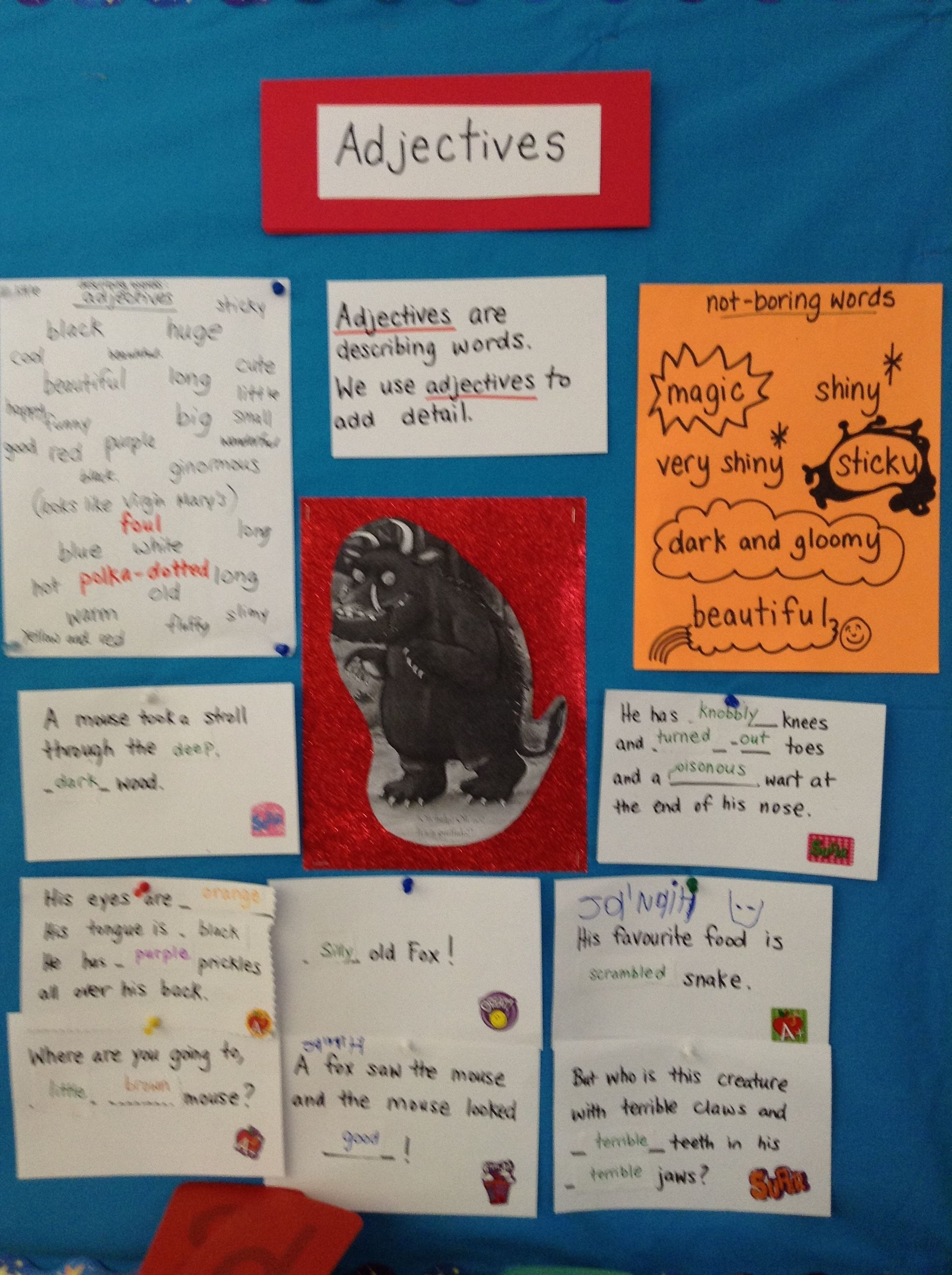 The Gruffalo Is A Great Story To Introduce Adjectives
