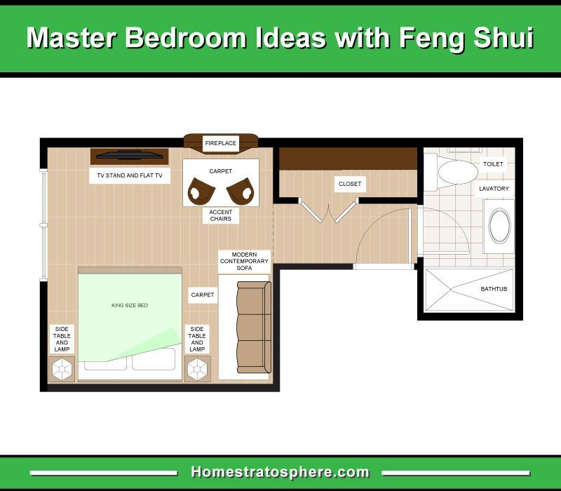 How to Feng Shui Your Bedroom (25 Rules with 17 Layout ...