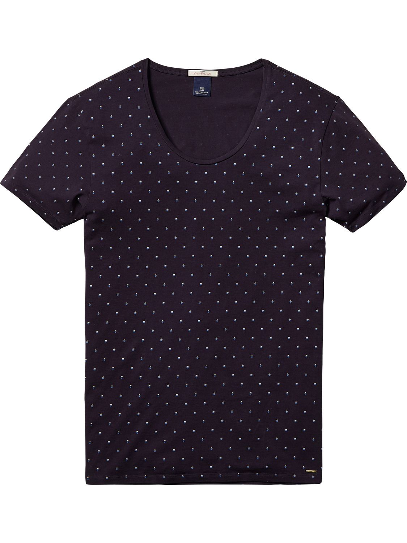 Deep Crew Neck T-Shirt | T-shirts ss | Men Clothing at Scotch