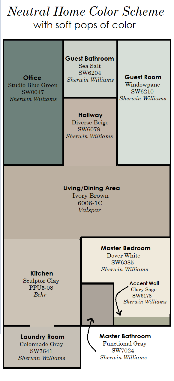 Behr Paint Colors Neutral Master Bedrooms
