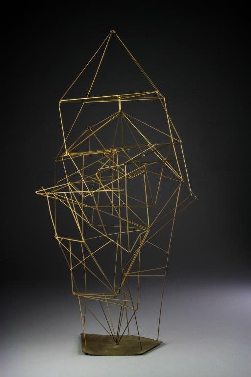 Manner Of Alexander Calder Abstract Wire Sculpture On