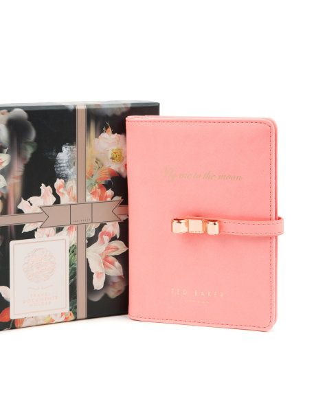 813a298a9 Travel document holder - Coral