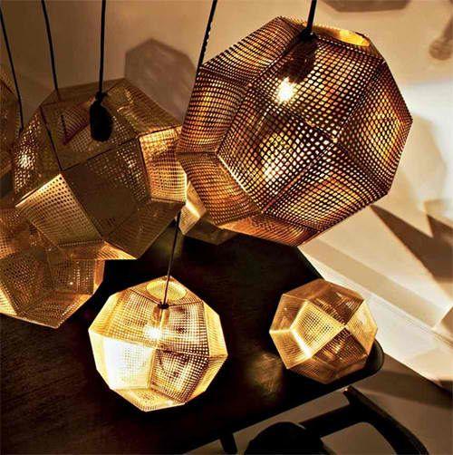 Tom Dixon Lampe Kupfer
