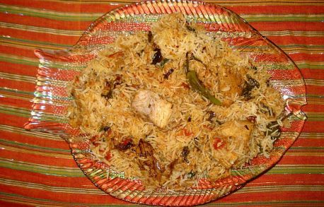 Fish Biryani from Biryani Of The Seas  http://www.foodiehub.tv/fast-feasts/asia-pacific/Karachi/review/Biryani-Of-The-Seas/Fish-Biryani/4488_4495