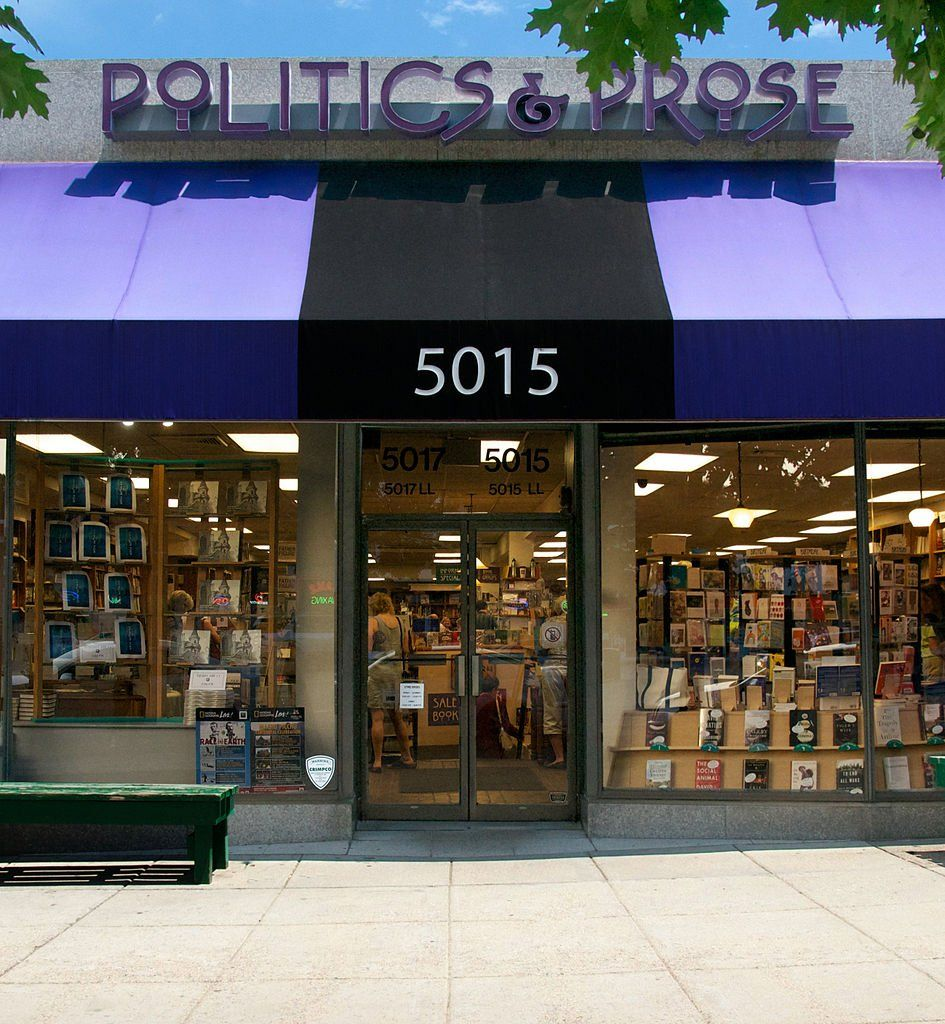 Politics & Prose, Washington D.C. This bookstore in the nation's Capitol is best-known for its amazing line-up of speakers. Past guests have included J.K. Rowling and Bill Clinton.