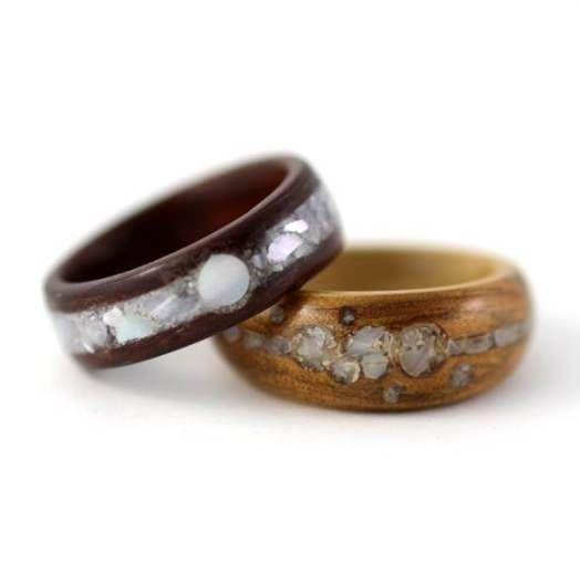 wood rings - Google Search