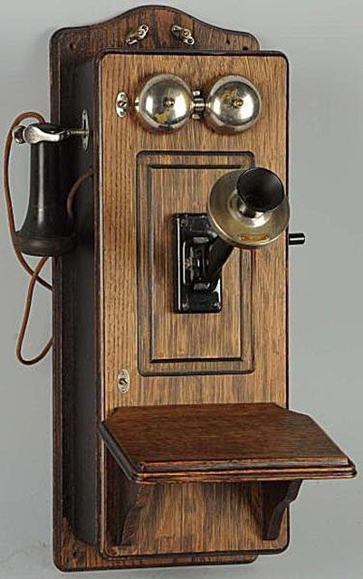 All Old Wall Telephones Are Just Alike Right