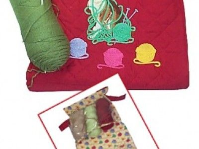 Thumb400 916knittingbagcatlg Organize Your Crochet Or Knitting