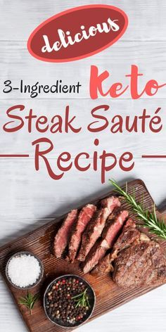 INSTRUCTIONS 1 In a frying pan, saute onion and garlic in avocado oil, then add the steak. Done! Eas...