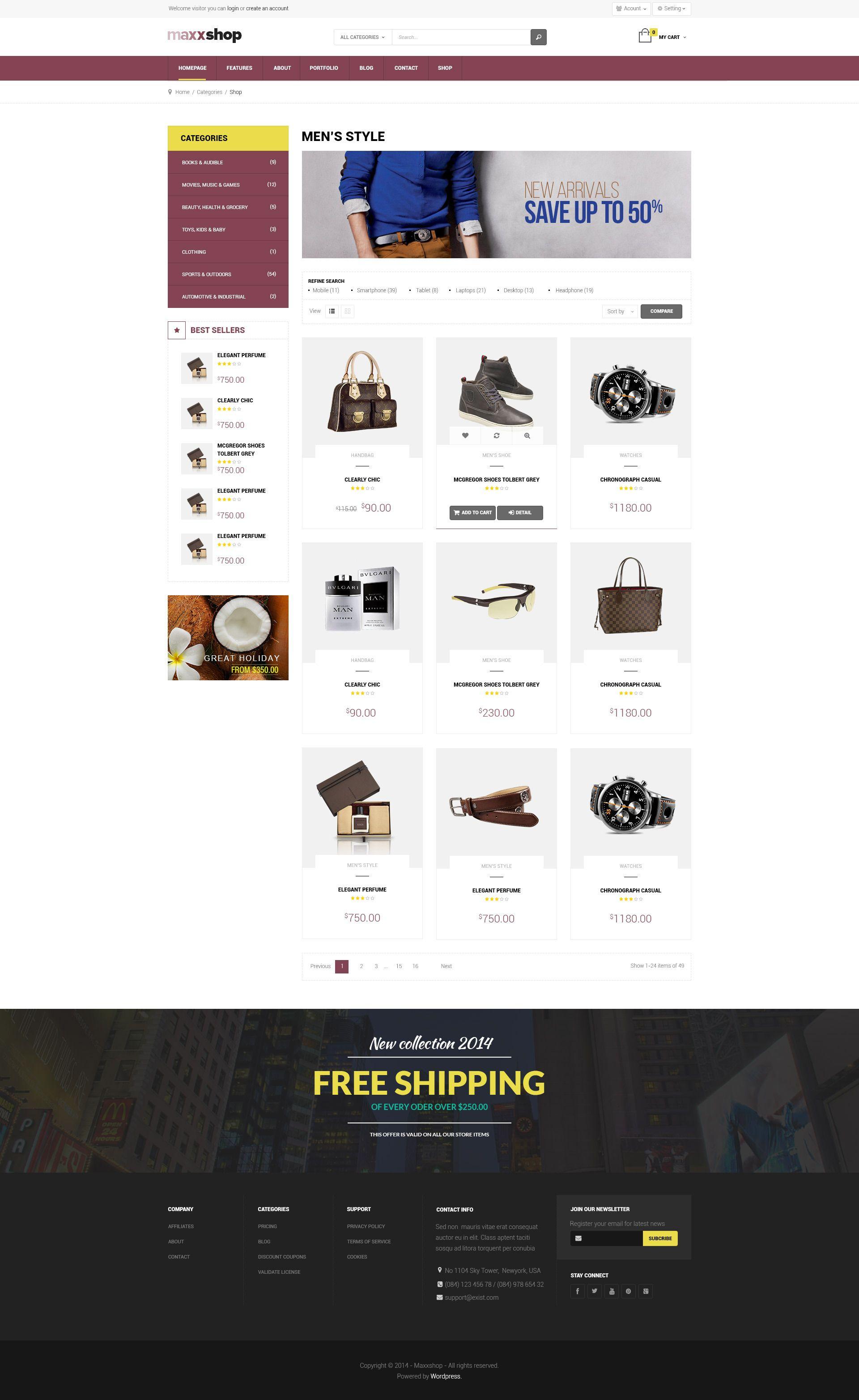 Maxx Shop Responsive Multipurpose Magento Theme Responsive Shop