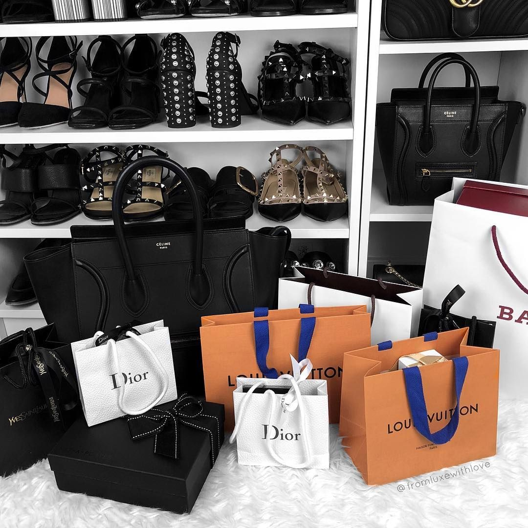 Instagram: @fromluxewithlove / Shopping / Designer / Luxury Shopping  #shopping #fashion #louisvuitton #designerhaul | Luxury shop, Shopping,  Luxury