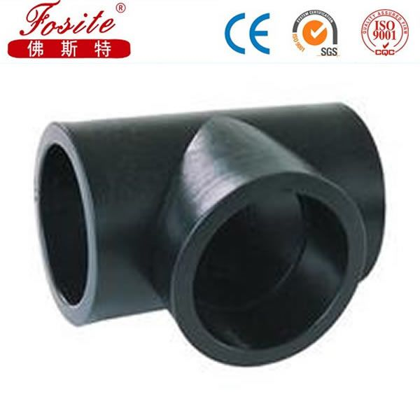 Butt fusion pipe fittings plastic fitting hdpe