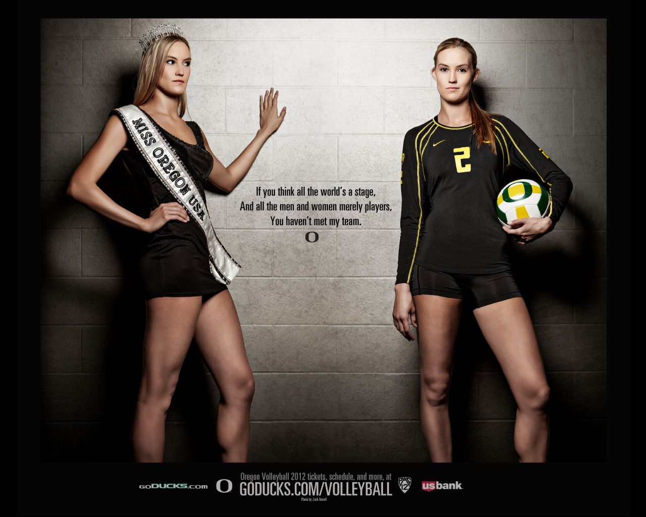 2012 Oregon Volleyball Wallpaper 1280x1024 Miss Americana Esportes Olimpicos Esportes