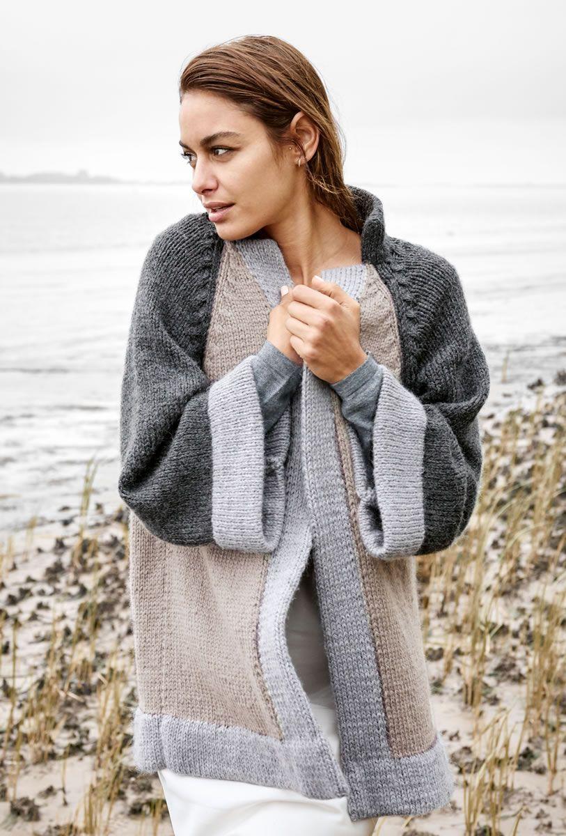 lana grossa jacket bingo alpaca - filati classici no. 11 - design 20