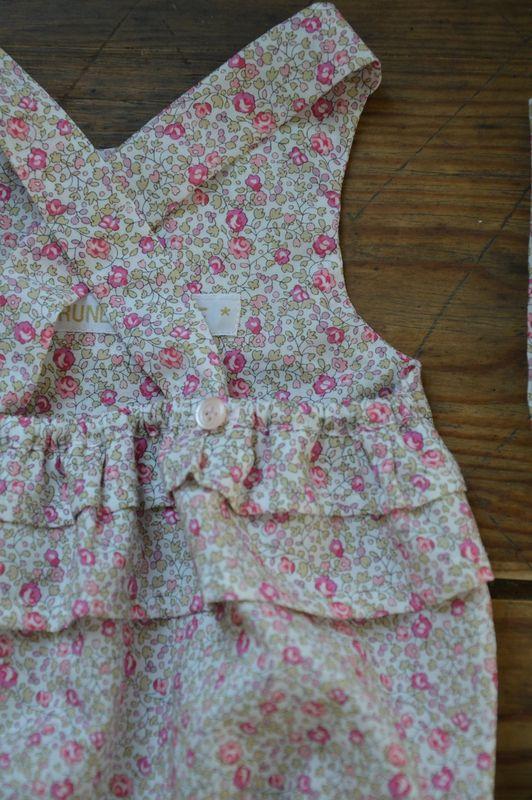 superbe barboteuse en tissu liberty eloise | children | Pinterest ...