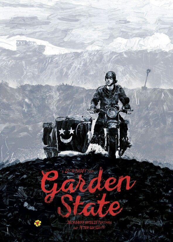 Garden State Alternative Movie Posters State Art Print Movie Posters Design