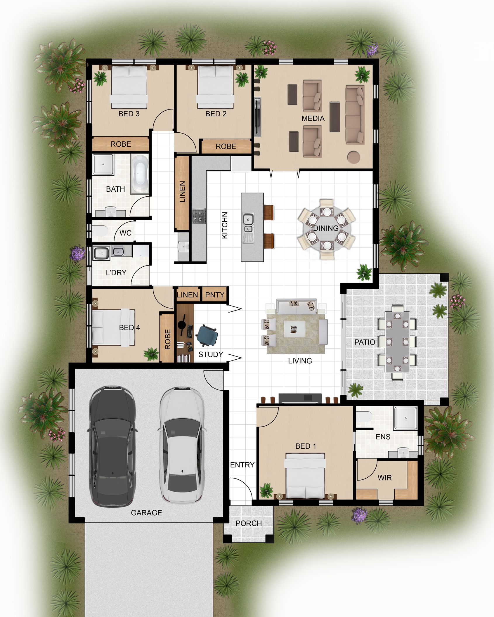 Australia 39 S Leading 3d Architectural Visualisation And Rendering Company Specialising In 3d Architectural Floor Plans House Floor Plans House Layout Plans
