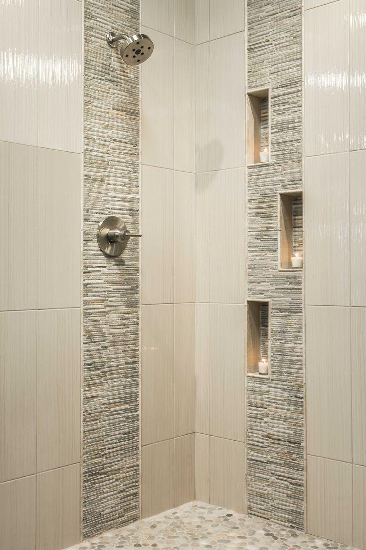 Bathroom shower tile - ... | Hall bath ideas | Pinterest | Bath ...