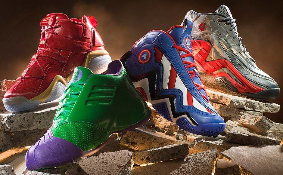 307f4ef27045 Marvel Avengers x adidas Basketball Collection Officially Unveiled -  SneakerNews.com