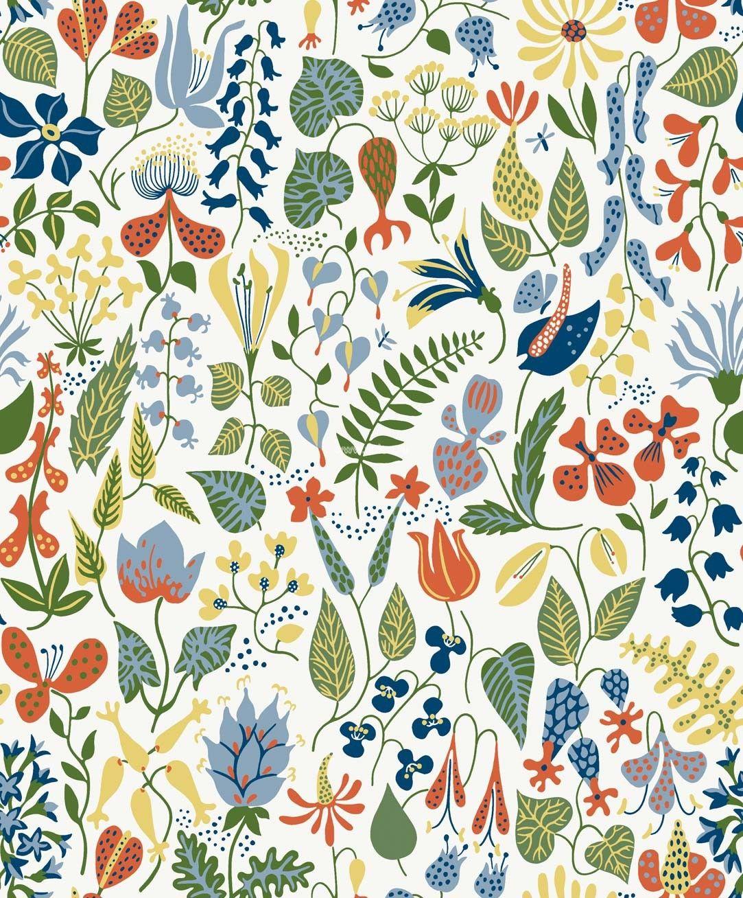Скандинавские растения открытки, поздравление